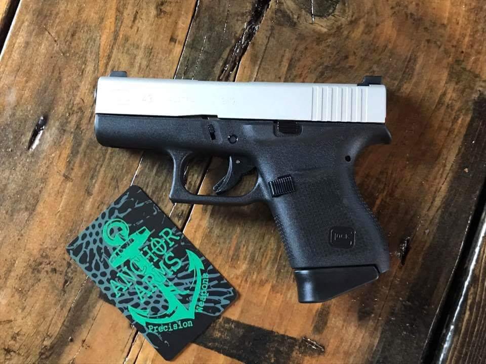 Glock 43 (H-158 Shimmer Aluminum